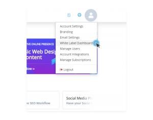 """White Label ></noscript> Dashboard Setup"""" width=""""500″ height=""""391″></p> <p style="""
