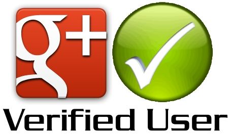 G+ Verified user banner