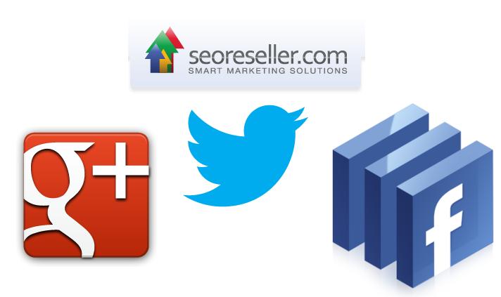 SEOreseller and Social Media logo