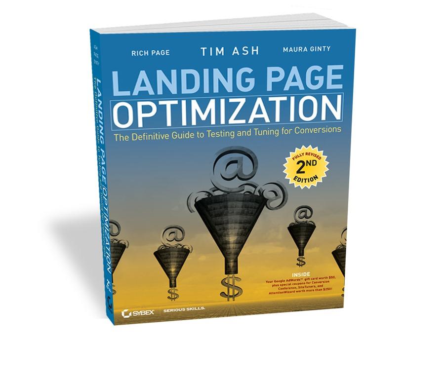 Tim Ash Landing Page Optimization