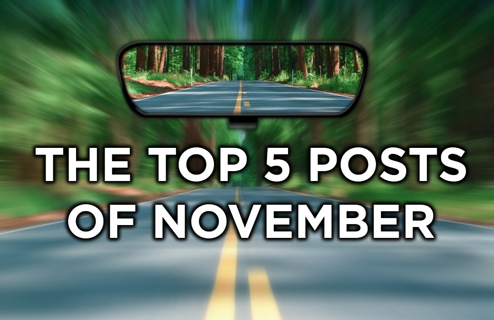 Top 5 Posts for November