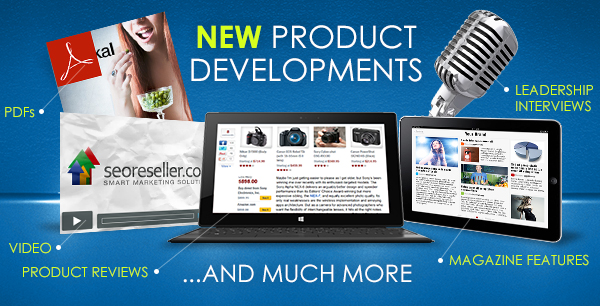 More Exciting Product Developments - May 1st