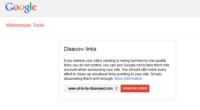 Common Misconceptions about Link Disavowals