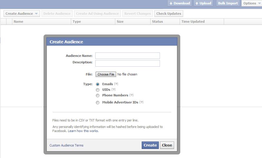 """Facebook Tweaks """"Custom Audiences"""" Feature; Begins Serving Interest-Based Ads"""