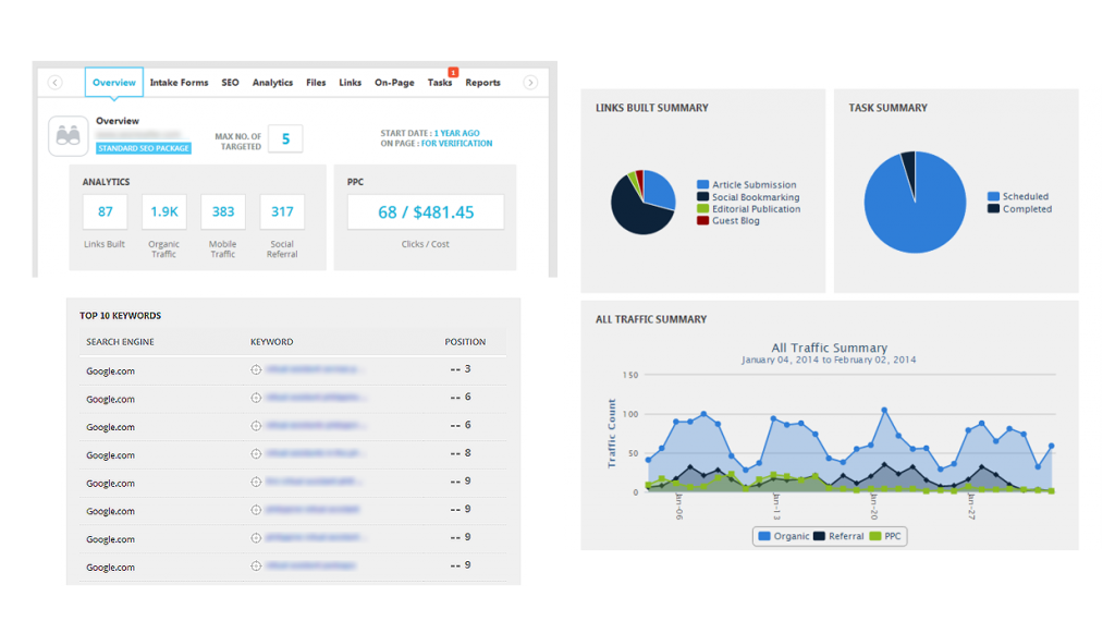 SEOReseller.com's New Reseller Dashboard The Next Generation