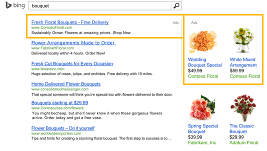 Bing Product Ads is now available to all U.S. advertisers