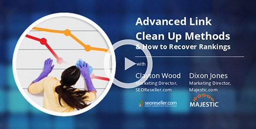 Advanced Link Clean Up and How to Recover Rankings Webinar Coverage
