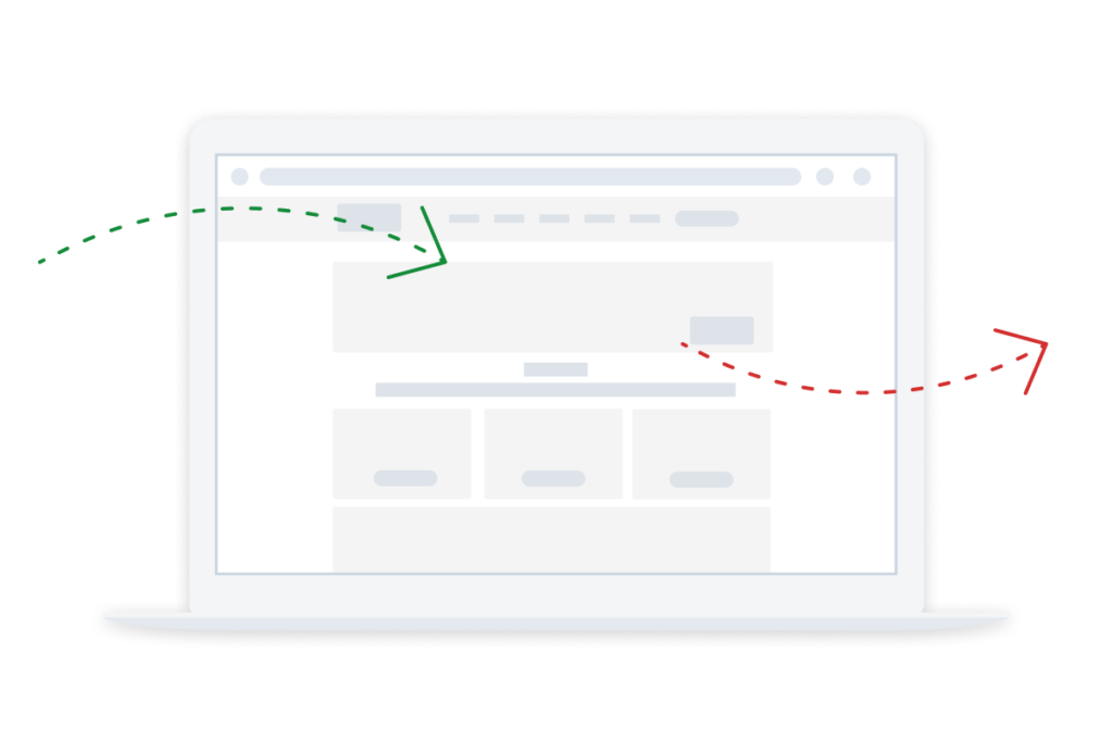 good bounce rate and conversions