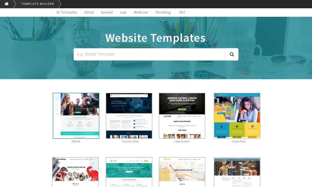 SEOReselller WordPress Template Catalog