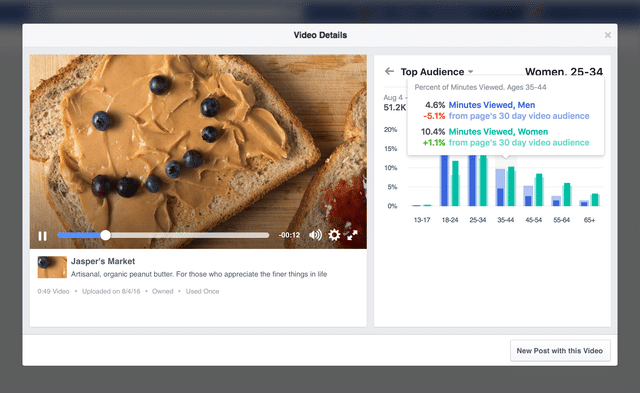 Facebook Audience Video Insights - SEOReseller