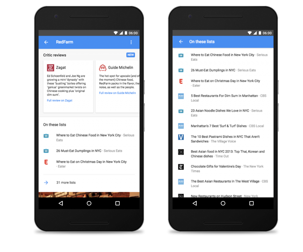 Google Now critic reviews Roundup SEOReseller