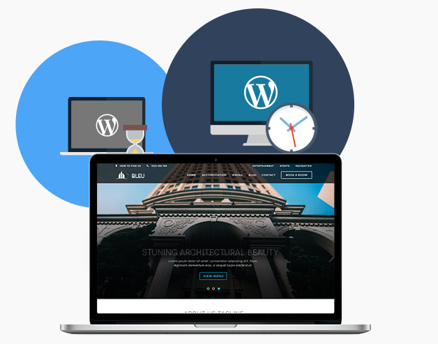 Purchase additional web development hours on-demand