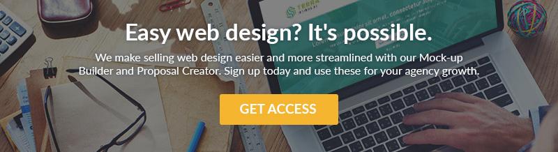 Web Design CTA