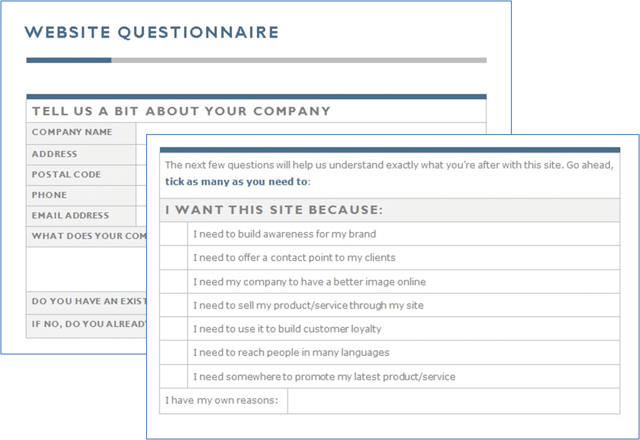 100 home design questionnaire for clients for Home decor questionnaire
