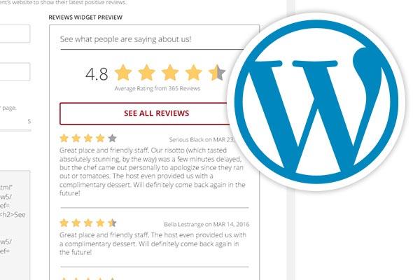 WordPress Reviews Plugin