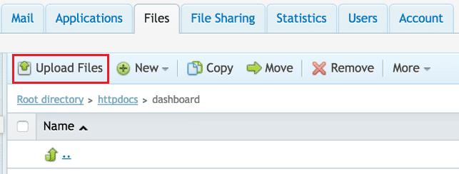 plesk-upload-file