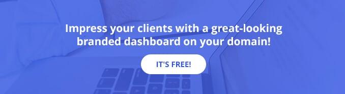 Dashboard On Your Domain - CTA