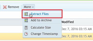 Method 4 - Extract File