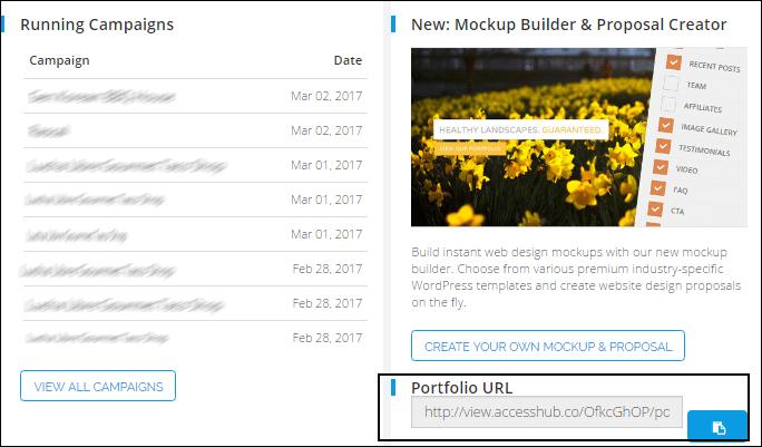 Portfolio URL