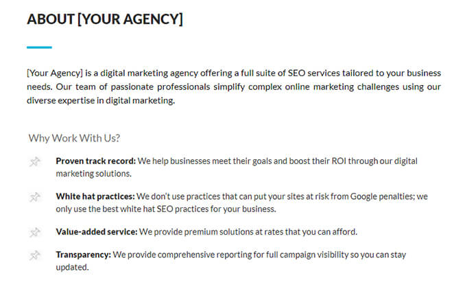 Agency Information