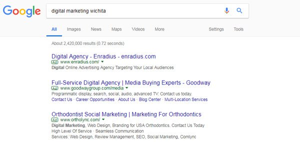 Google AdWords - Search Engine