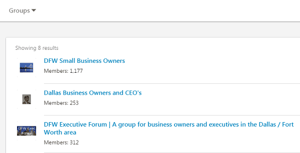Small Business Groups - Generate Leads on LinkedIn