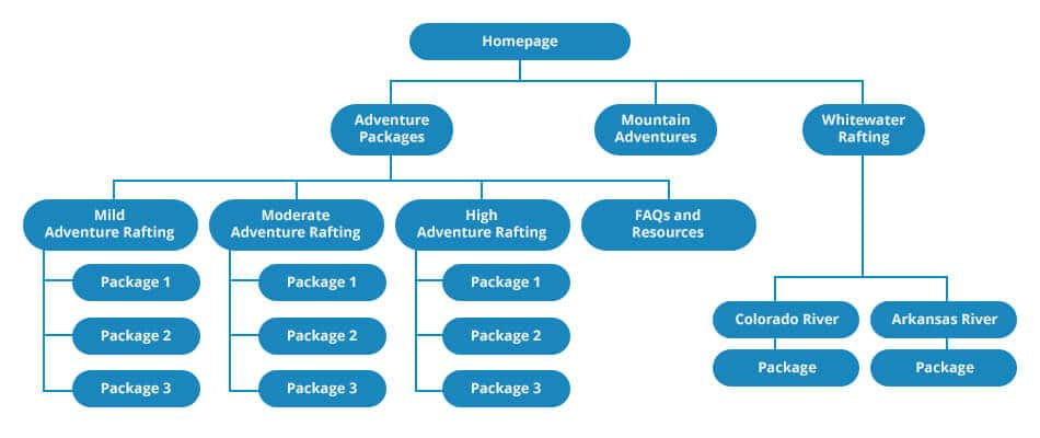 New Website Structure