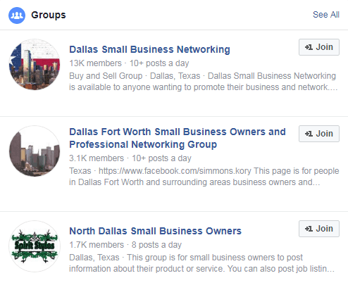 Social Media Strategy - Facebook Groups