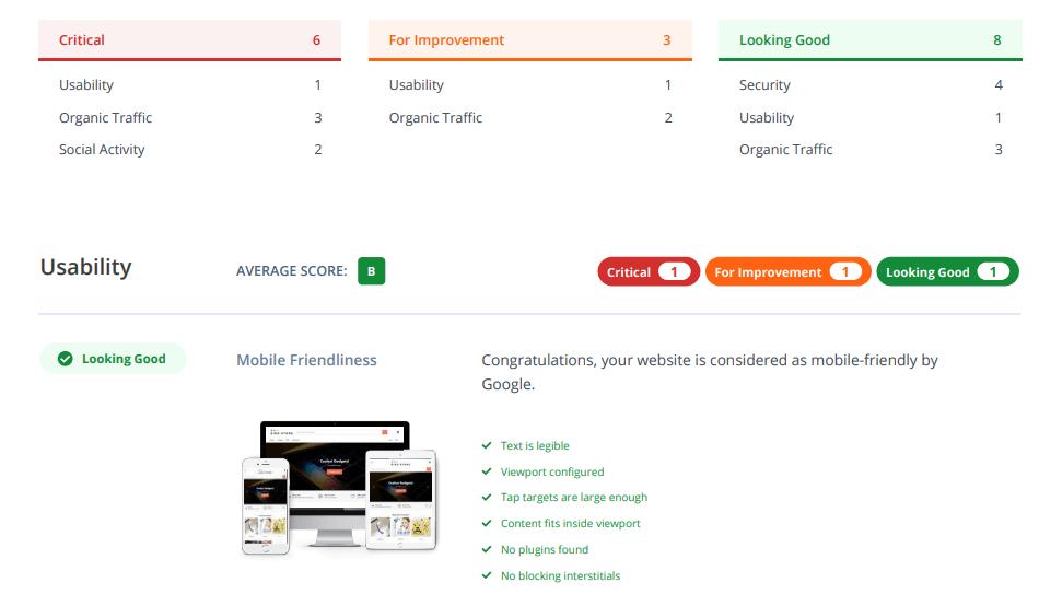 Sample-Website-Audit