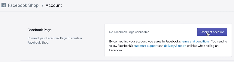 How to connect facebook to shopify
