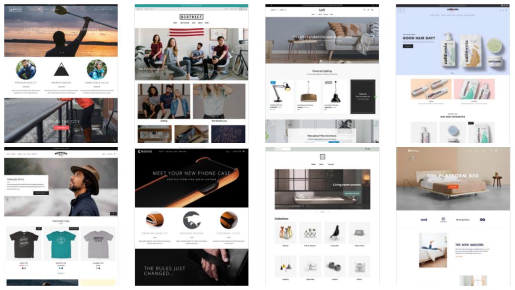 shopify web services US