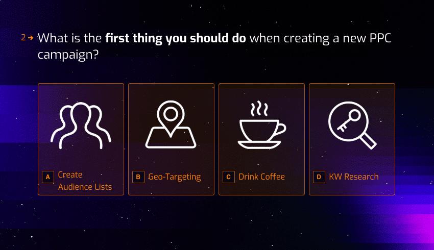 Create quiz