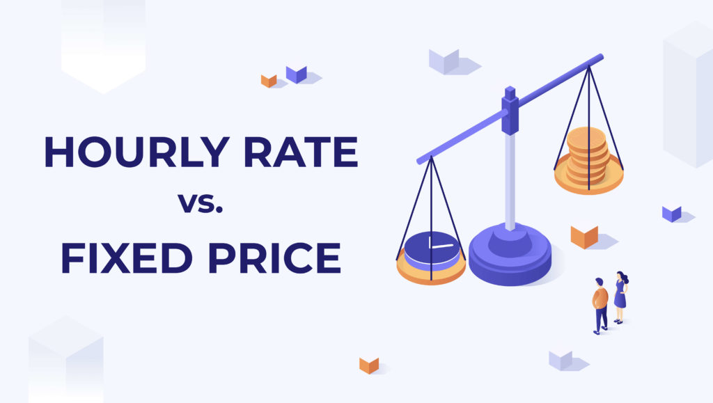 Hourly versus fixed web design pricing