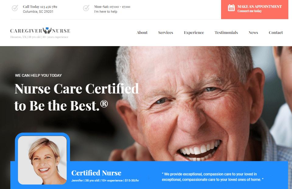 Care Small Business WordPress Theme