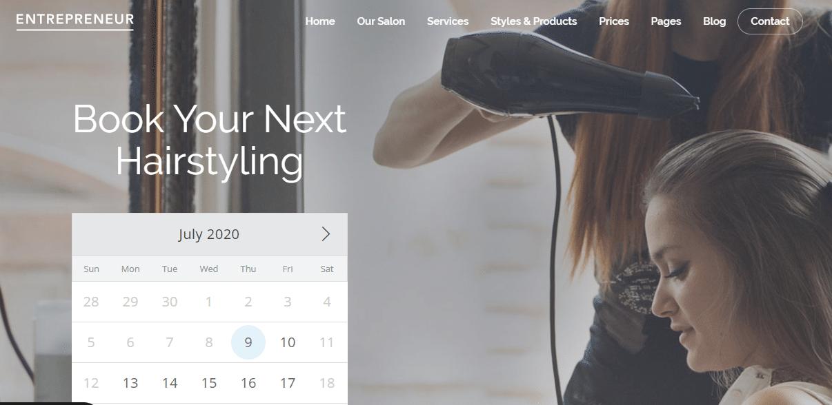 Entrpreneur Small Business WordPress Theme