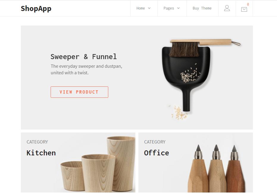 ShopApp Small Business WordPress Theme