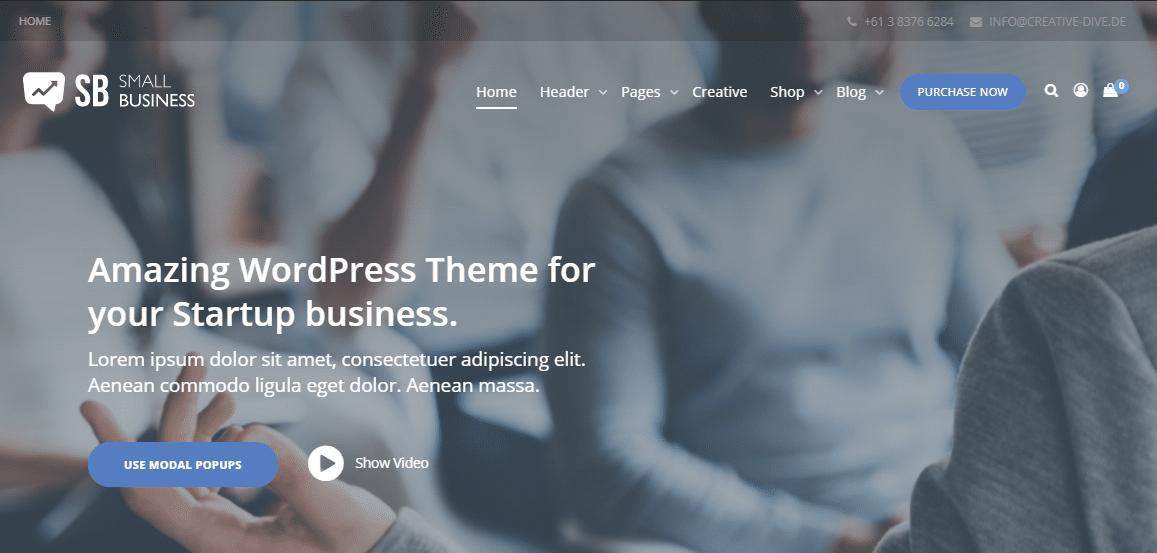 Small Business CD WordPress Theme