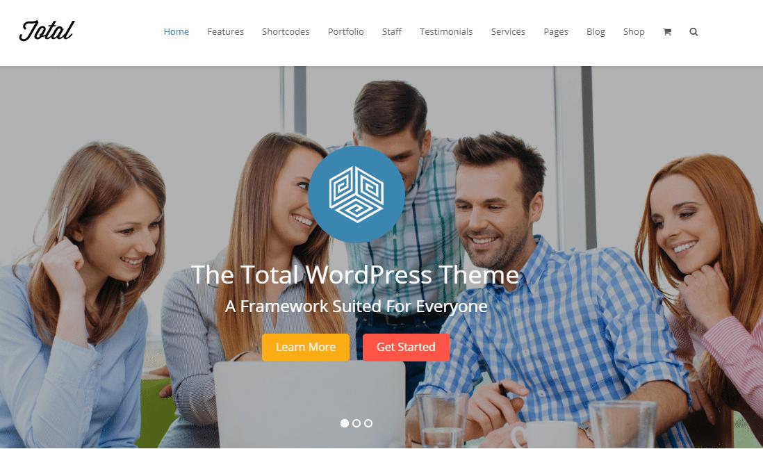 Total Small Business WordPress Theme