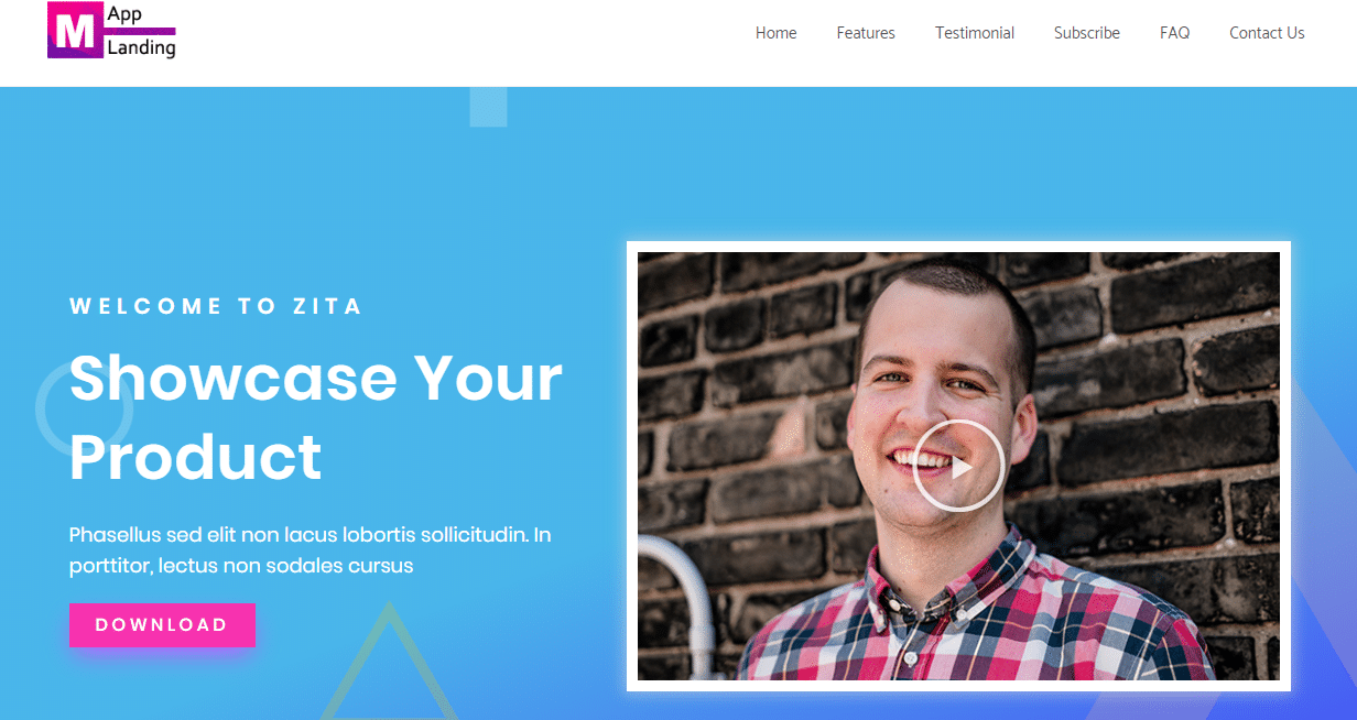 Zita Small Business WordPress Theme