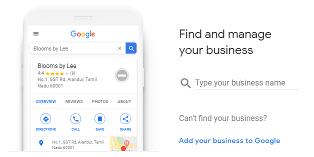 how to get my business on google