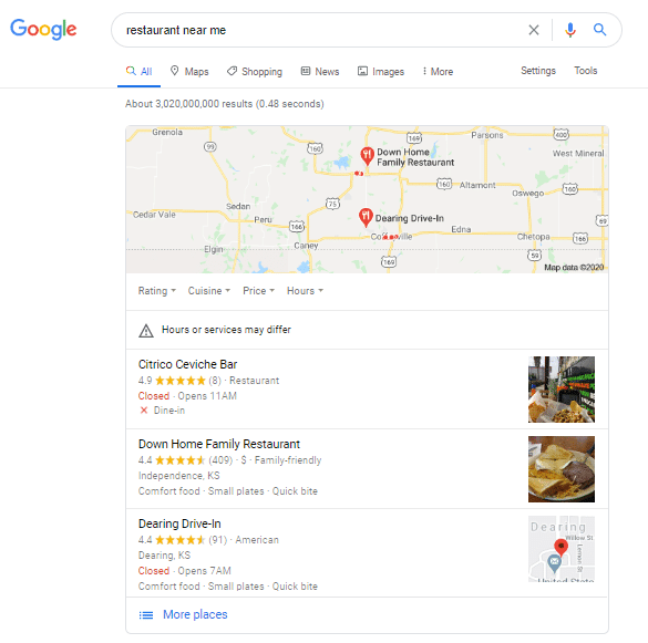 how to put my business on google