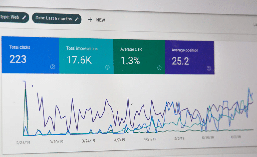 Traffic growth following an SEO service strategy as shown on Google Search Console