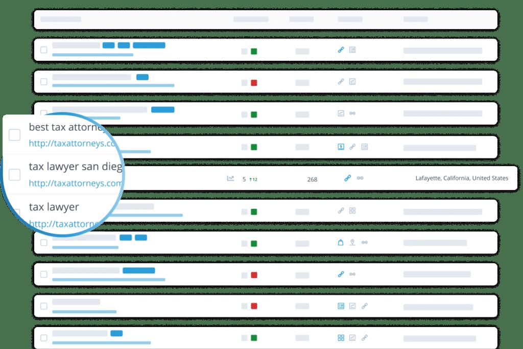 rank tracker monitoring